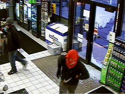 Two suspects break into the BP gas station in Weston, June 30 2013